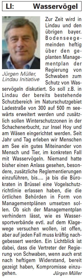Artikel in der Bürgerzeitung Ausgabe 24/2013