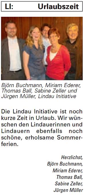 Artikel in der Bürgerzeitung Ausgabe 35/2013