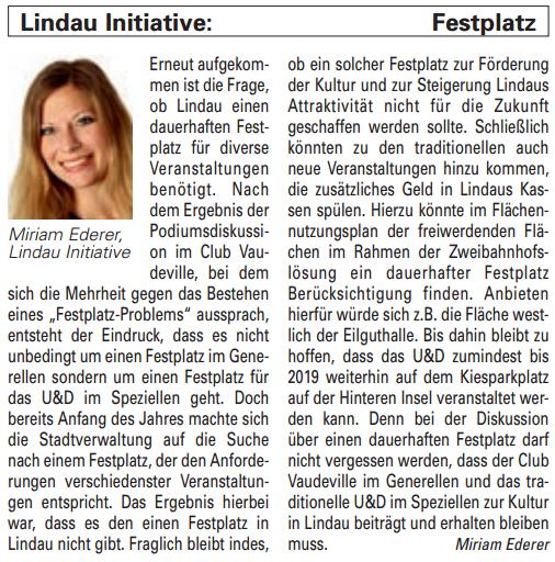 Artikel in der Bürgerzeitung Ausgabe 45/2013